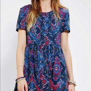 MINKPINK abstract babydoll dress